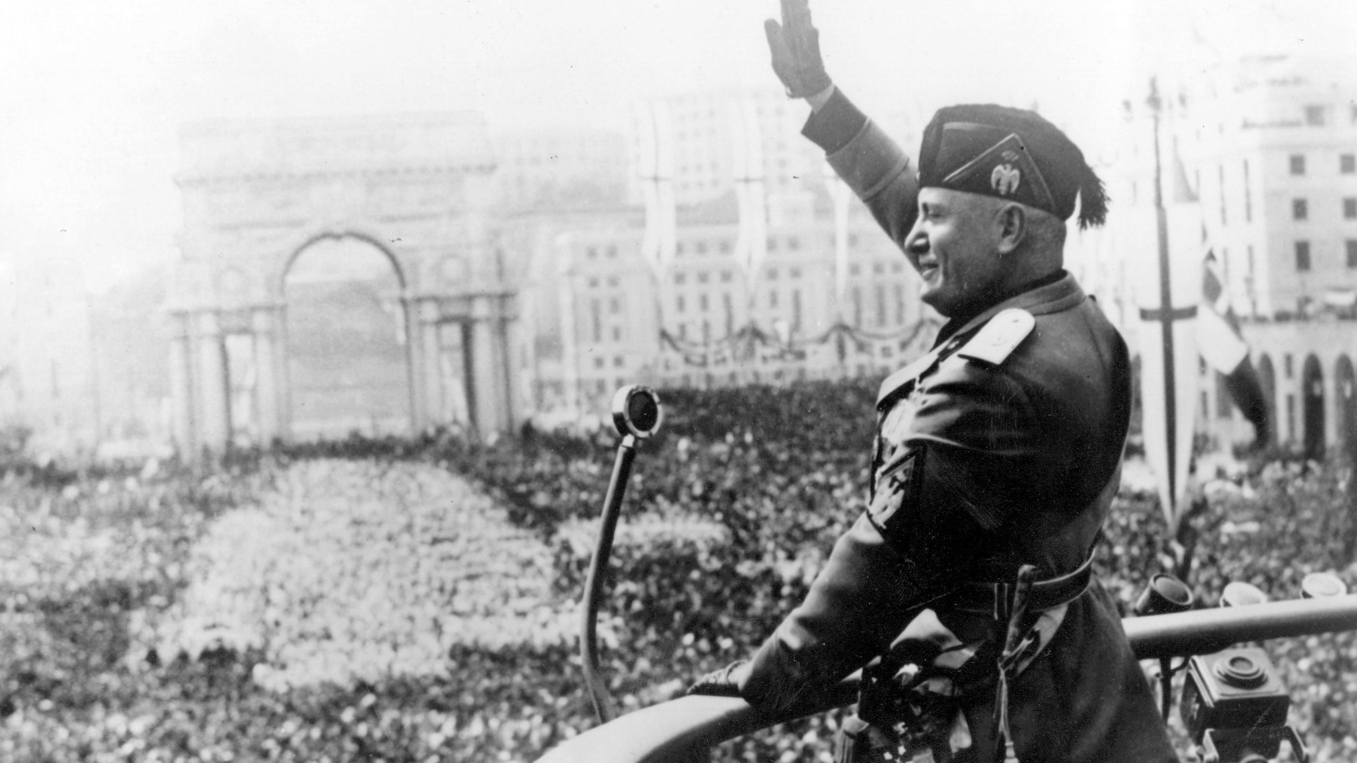 the over inflated ego of benito mussolini an italian world war ii fascist dictator Benito mussolini and fascism a neo-fascist party, the italian social movement, was founded after world war ii.